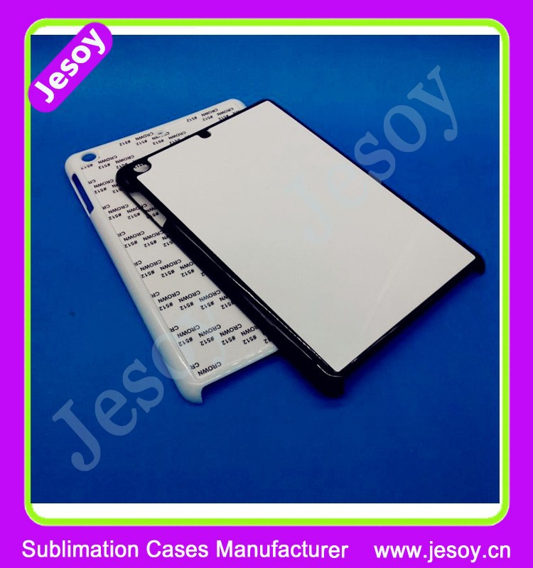 JESOY Hot Selling Plastic 2D Blank For ipad air 2 Sublimation Phone Case Made In China