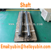 stainless steel long driving shaft for ship propeller/hollow shaft/CNC Propeller shaft
