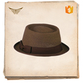 China factory wholesale brown straw men boater short brim hats