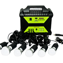 High efficiency off-grid mini power supply home led lights solar panel energy kit