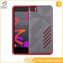2016 hot sale tpu pc slim armor back cover case for BQ auqaris m4.5
