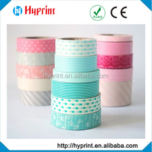High quality Washi colorful decorative Paper Tape
