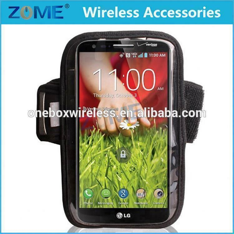 China Price Cellphone Sports Running Jogging GYM Armband Case Cover Holder For LG Optimus G Pro