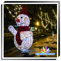 Christmas holiday new type decoration led light outdoor LED 3D acrylic motif light 3d led light