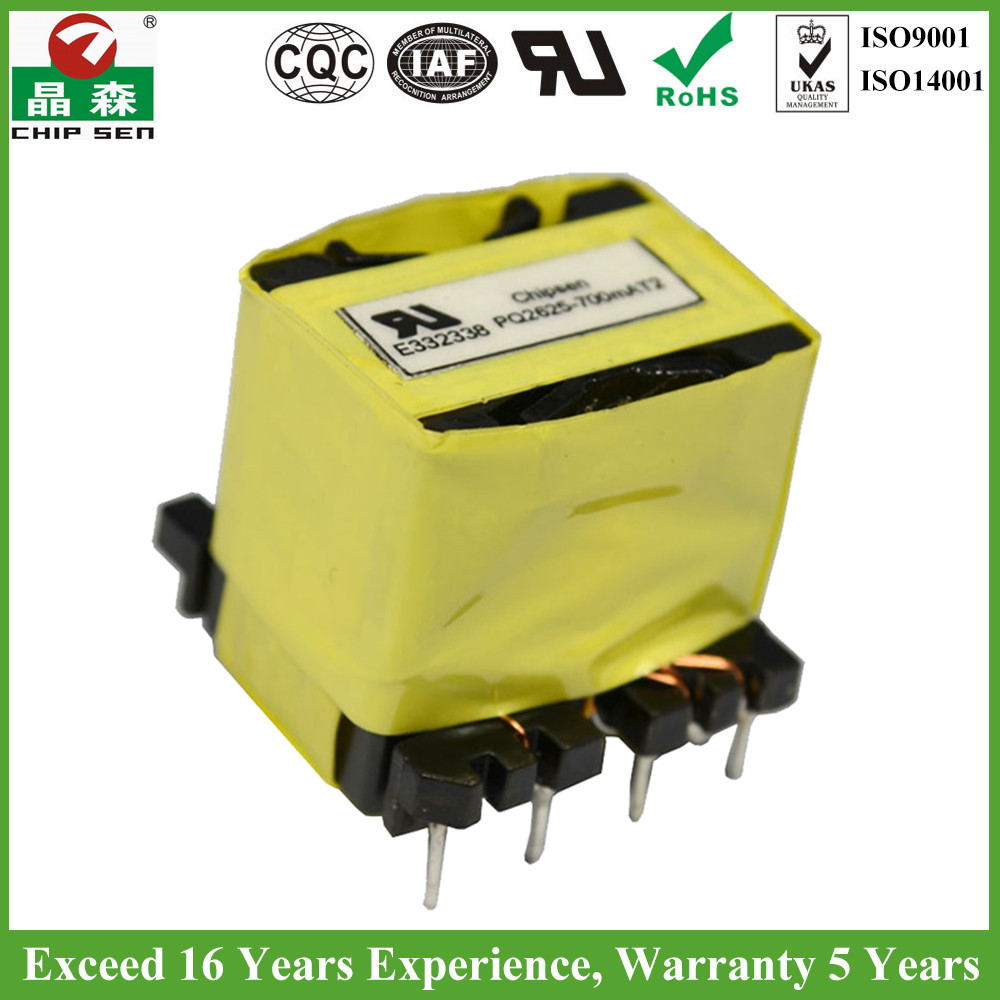 ISO Factory Price PQ2625 240V AC 8V AC Transformer UL ROHS Certified