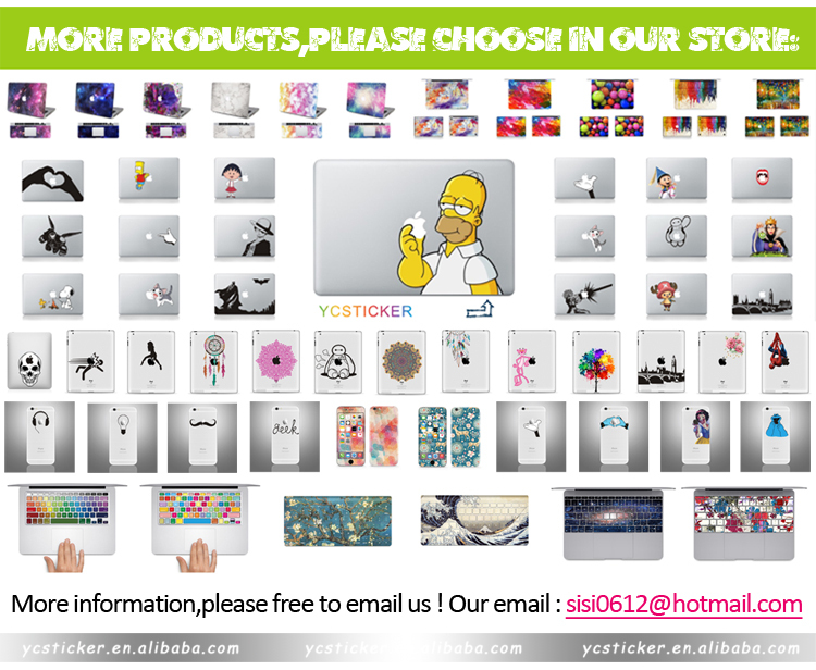 Wholesale Decals Stickers for MacBook Keyboard Sticker Decal