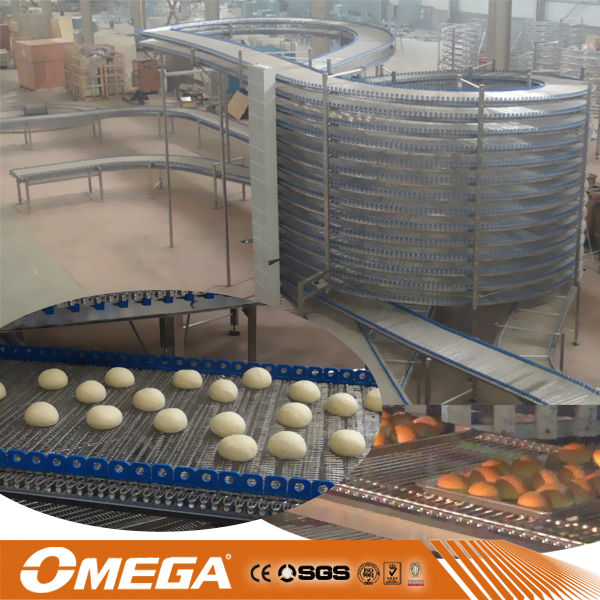 professional spiral bread cooling tower with ce