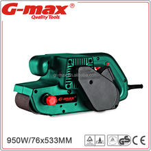 G-max Hot-sell Wood Horizont Belt Sander With 900W Motor GT11862