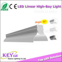 Hot sale bracket mounted led linear tube light 0.9m 1.2m 1.5m for replace fluorescent tube