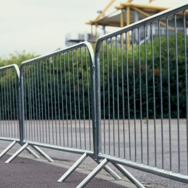 marathon site removable crowd control barricades/temporary barricades/road block barricade
