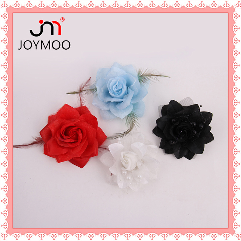 Wholesale Artificial Fabric Fake Flower Festive Party Supplies Decorative Flowers