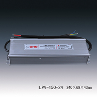 24VDC 6AMP Electrical Equipment Supply 150w