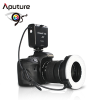 Aputure Macro 100 Pieces Aputure Amaran Halo AHL-HN100 LED Ring Flash Light for Nikon DSLR Camera
