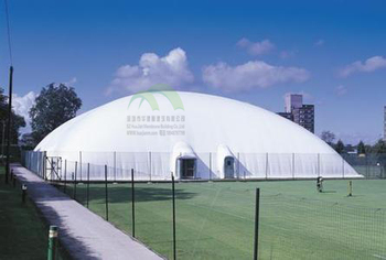 football field inflatable membrane/PVDF membrane and fan system