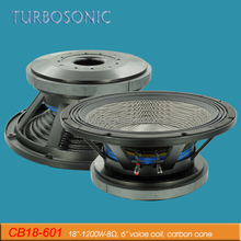 18 inch 1200 watts high power subwoofer outdoor speakers