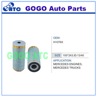 Oil Filter for MERCEDES TRUCKS ENGINES OEM H1076X E170HD23 4411800209