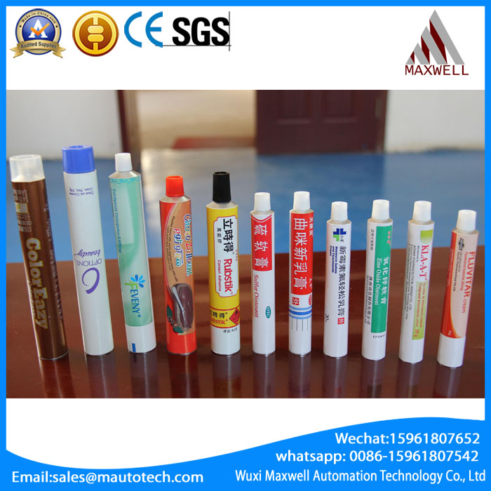 Customize printing water oil paint ointment aluminum tubes packing