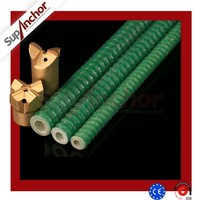 SupAnhor S33 international standard chemical anchor bolt,chemical frp anchor bolt,self drilling