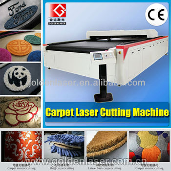 Logo Rug,Floor Mat,Blankets,Car Carpets Cutting Machine with Laser