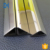 1.4301(304) mirror polished surface triangle stainless steel decorative pipe