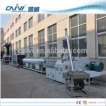 Plastic drainage/gas/water supply PVC pipe making machines
