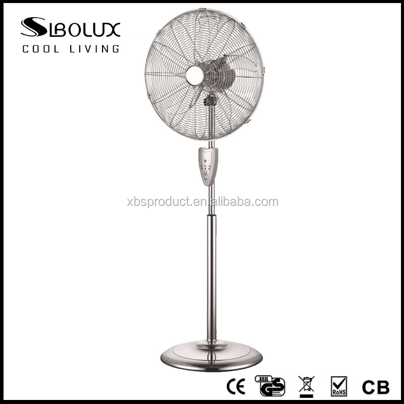 16'' Retro metal High velocity Fan Stand fan