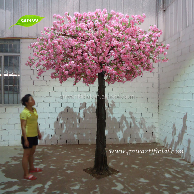 BLS071-1 GNW China Artificial cherry blossom tree for big hall decoration