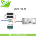 New Design Single Door 80L Solar Power Mini Fridge