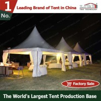 Decorative Roof Pagoda Event Tents 6x6 for Banquet