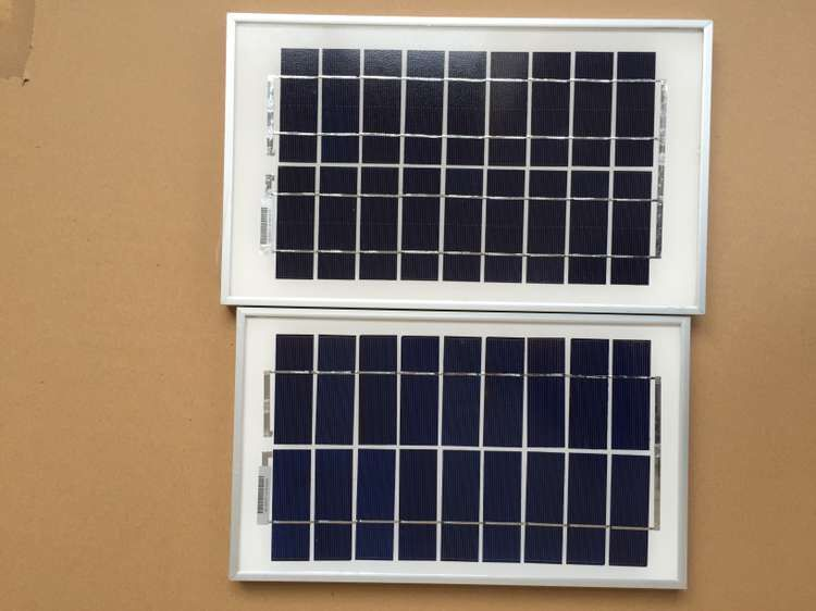 best selling product small size polycrystalline 9v 5w solar panel for india market