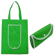 Custom made non woven reusable foldable shopping bag