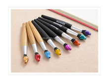 New design torch shape plastic promotional ballpoint pens