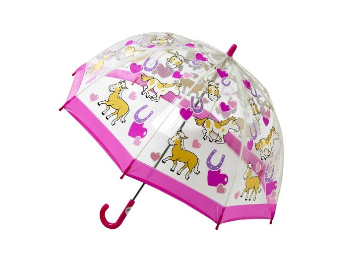 Hot Sale Lovely cheap transparent stick kids umbrella