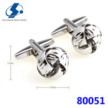 Birthday Gifts Vintage Promotional Metal Cufflink Special Knot Cufflinks