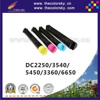 (CS-XDC2250) compatible toner cartridge for Xerox DC 2250 3540 5450 3360 6650 CT201129 CT201130 KCMY (15K/12K pages)