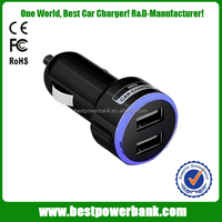 HC-C11 New multi cell phone charger powerful 5v/2.1a car charger for tablet pc