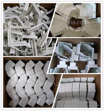 High Quality Rain Drainage System Building Material Plastic PVC Rain Gutter System DownspoutFittings rainwater gutters