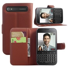 Flip Wallet Leather Shockproof Cover Phone Case For Blackberry classic Q20
