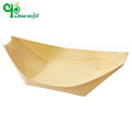 Excellent quality disposable aspen wood boat