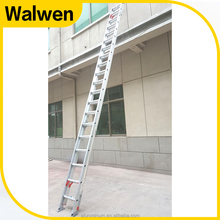 New coming rope operate aluminum combination step extension ladder