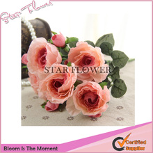 2017 New Product SF2017200 artifical roses table wedding decoration artificial flowers for grave arrangement