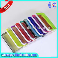 Superl TPU transparent Case with bumper for Iphone4/4s 5/5s 5c high clear mobile phone case