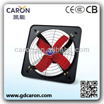 Copper motor 12'' 14'' 16'' strong power square exhaust fan