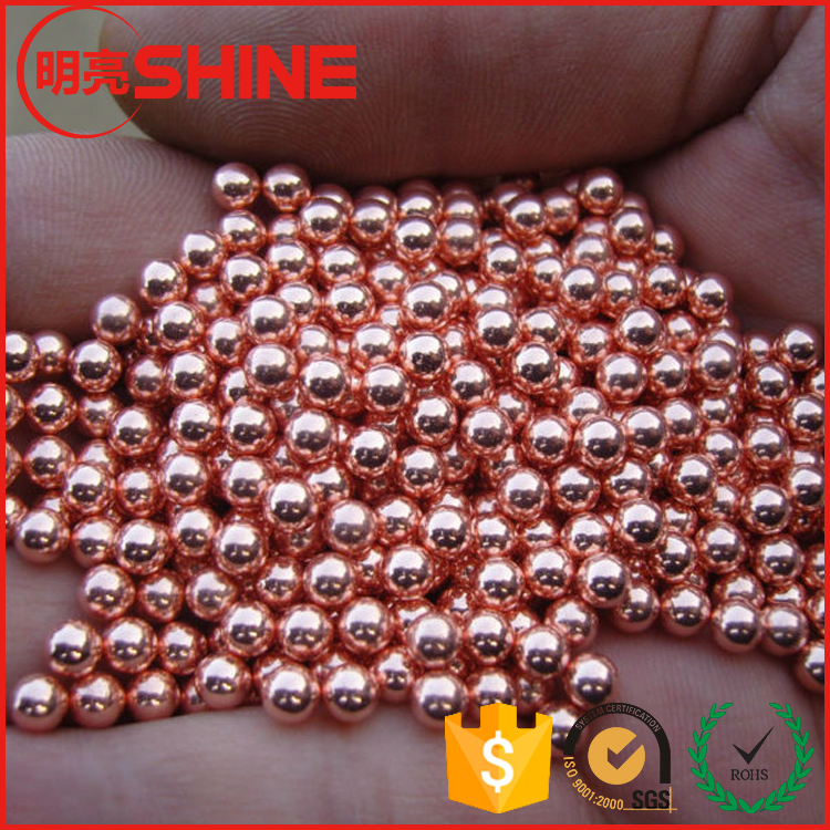 C28000 99.9% Purity Conductive Copper Ball Sphere