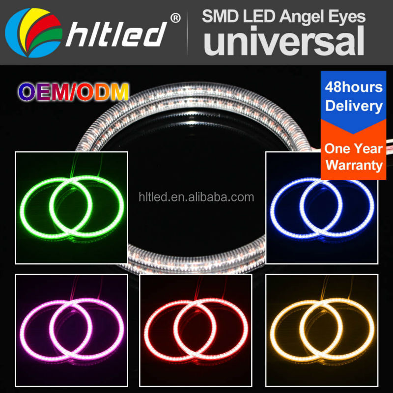 factory best price 3528 led halo ring light, 3528 led angel eyes with White/Red/Blue/Green/Purple/Yellow color