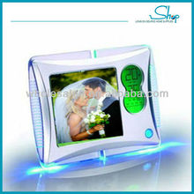2015 New design hot selling unique digital picture frame