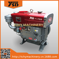 YASHIDA ZS1105N 16HP Radiator Cooling Diesel Engine Single Cylinder Water Cooled Direct Injection