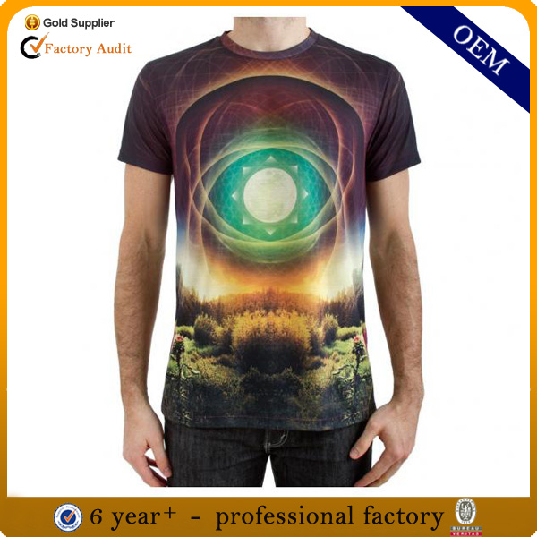 Wholesale new design all over sublimation t shirt