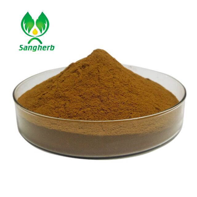 Natural instant kuding black tea extract powder theaflavin with the best quality