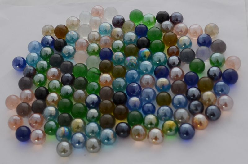 Marble Balls Decoration New Toy Glass Marbles Decoration Glass Marbleclear Marbles Colored Inspiration Design
